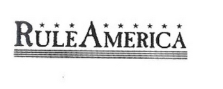 mark for RULEAMERICA, trademark #85192929