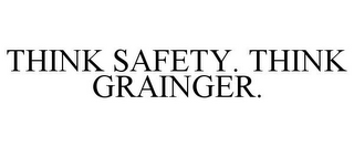 mark for THINK SAFETY. THINK GRAINGER., trademark #85193440