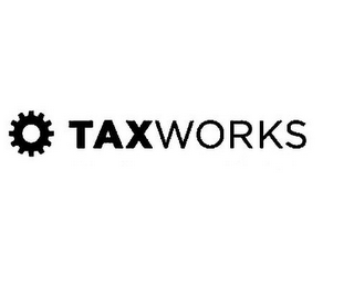mark for TAX WORKS, trademark #85194372