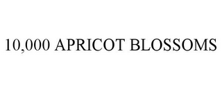 mark for 10,000 APRICOT BLOSSOMS, trademark #85194870