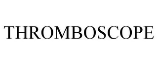 mark for THROMBOSCOPE, trademark #85195606
