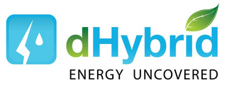 mark for DHYBRID ENERGY UNCOVERED, trademark #85195695