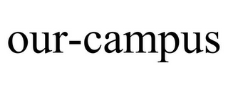 mark for OUR-CAMPUS, trademark #85196390