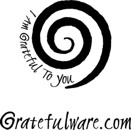 mark for I AM GRATEFUL TO YOU GRATEFULWARE.COM, trademark #85197655