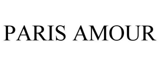 mark for PARIS AMOUR, trademark #85198299