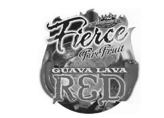 mark for ANDRADE'S SAVORY ORIGINAL FIERCE FIRE FRUIT GUAVA LAVA RED, trademark #85198938