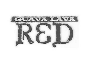 mark for GUAVA LAVA RED, trademark #85198952