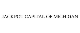 mark for JACKPOT CAPITAL OF MICHIGAN, trademark #85200863