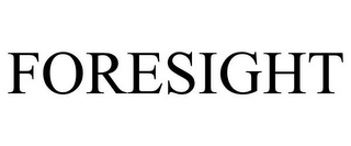 mark for FORESIGHT, trademark #85201070