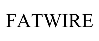 mark for FATWIRE, trademark #85201389