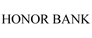 mark for HONOR BANK, trademark #85202007