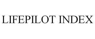 mark for LIFEPILOT INDEX, trademark #85202895