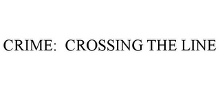 mark for CRIME: CROSSING THE LINE, trademark #85205112