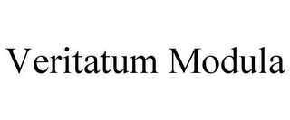 mark for VERITATUM MODULA, trademark #85206198