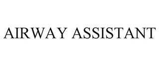 mark for AIRWAY ASSISTANT, trademark #85206647