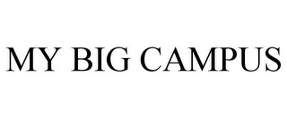 mark for MY BIG CAMPUS, trademark #85206790