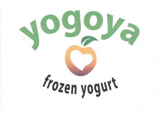 mark for YOGOYA FROZEN YOGURT, trademark #85206898