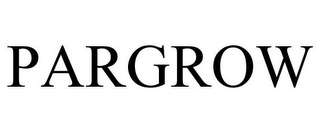 mark for PARGROW, trademark #85207575