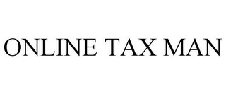 mark for ONLINE TAX MAN, trademark #85207792