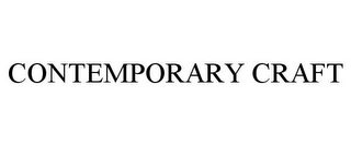 mark for CONTEMPORARY CRAFT, trademark #85208182