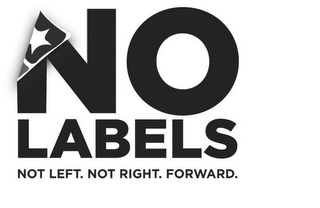mark for NO LABELS NOT LEFT. NOT RIGHT. FORWARD, trademark #85208985