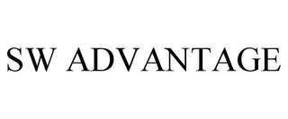 mark for SW ADVANTAGE, trademark #85209316