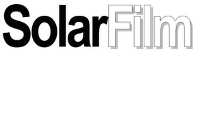 mark for SOLARFILM, trademark #85209808