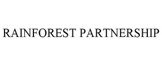 mark for RAINFOREST PARTNERSHIP, trademark #85210210