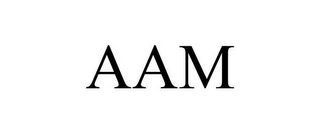 mark for AAM, trademark #85210659
