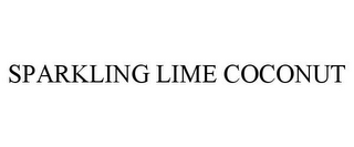 mark for SPARKLING LIME COCONUT, trademark #85210997