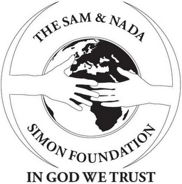 mark for THE SAM & NADA SIMON FOUNDATION IN GOD WE TRUST, trademark #85212794