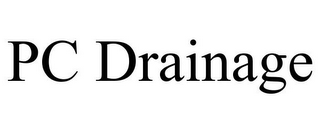 mark for PC DRAINAGE, trademark #85214298