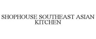 mark for SHOPHOUSE SOUTHEAST ASIAN KITCHEN, trademark #85215393