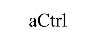 mark for ACTRL, trademark #85216068