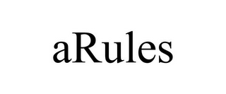 mark for ARULES, trademark #85216097