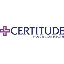 mark for CERTITUDE BY ASCENSION HEALTH, trademark #85217123