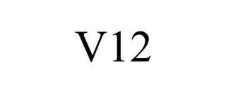 mark for V12, trademark #85217128