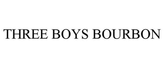 mark for THREE BOYS BOURBON, trademark #85219493