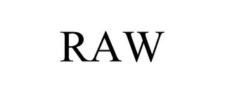 mark for RAW, trademark #85219786