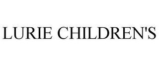 mark for LURIE CHILDREN'S, trademark #85220278