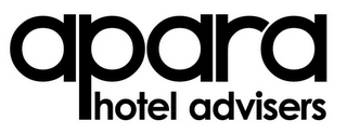 mark for APARA HOTEL ADVISERS, trademark #85220535