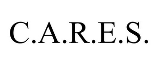 mark for C.A.R.E.S., trademark #85222062