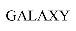 mark for GALAXY, trademark #85222548