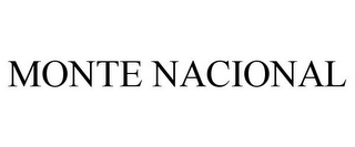 mark for MONTE NACIONAL, trademark #85222746