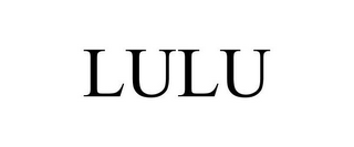 mark for LULU, trademark #85222829