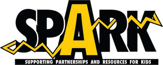 mark for SPARK SUPPORTING PARTNERSHIPS AND RESOURCES FOR KIDS, trademark #85222866