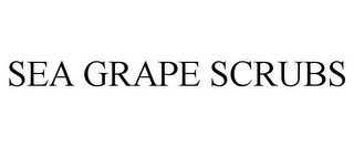 mark for SEA GRAPE SCRUBS, trademark #85223267