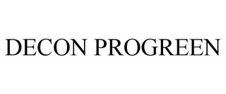 mark for DECON PROGREEN, trademark #85224552