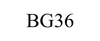 mark for BG36, trademark #85224558