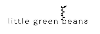 mark for LITTLE GREEN BEANS, trademark #85224796